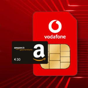30€ BC-Gutschein 🤑💥 für Vodafone CallYa Prepaid mit 20GB LTE (mtl. kündbar)