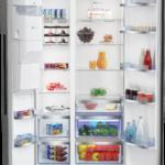 Beko Side-by-Side Kühlschrank mit Eis- und Wasserspender