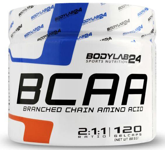 BCAA 120 Kapseln von Bodylab24 2020 01 02 18 19
