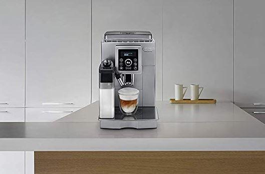 Delonghi ECAM 23.466.S Kaffeevollautomat silber Kaffeemaschine Cappuccino