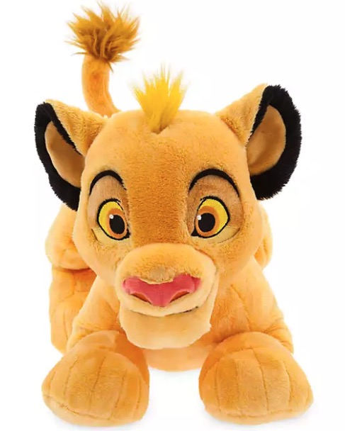 Disney Store   Simba   Kuscheltier