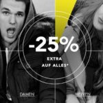 25% Rabatt auf Alles bei Dress-for-Less, z.B. New Balance, Superdry, Khujo usw.