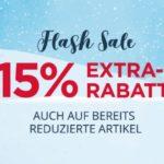 15% Rabatt auf Winterkleidung ⛄ z.B. Jacken, Pullis usw.