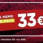 Endet heute! 👔 3 Eterna Hemden für nur 99€ (über 300 Styles zur Auswahl)
