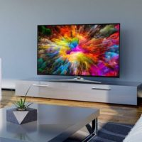 MEDION X14343 Fernseher 4K UHD Smart TV HDR10 Dolby Vision A