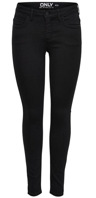 Only Damen Jeans onlKENDELL ETERNAL ANKLE   Skinny Fit   Schwarz   Black kaufen   JEANS DIRECT.DE 2020 01 29 19 55