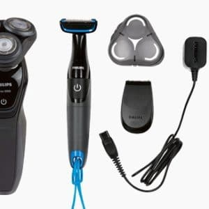 PHILIPS Rotationsrasierer AquaTouch mit Bodygroom S5082