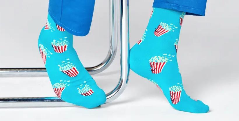 Popcorn Sock