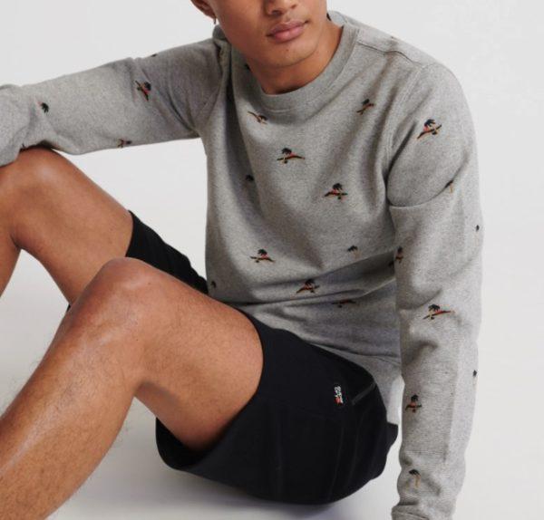 Superdry Herren Loopback Sweater