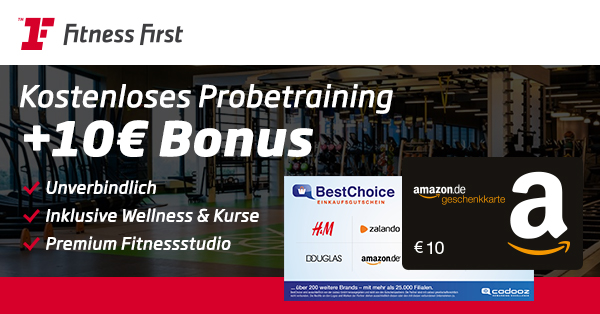 fitness first bonus deal