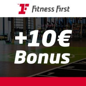 10€ BestChoice-Gutschein 🏋️ für GRATIS Probetraining bei Fitness First