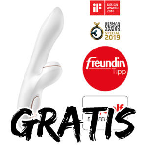 [TOP] 💕 GRATIS Satisfyer Pro G-Spot Rabbit (ab 30€ MBW) + bis zu 90% im Sale
