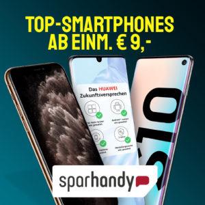 [TOP] 😎 D2 Allnet mit 10GB LTE für 20€ mtl. + Galaxy S10e / Huawei P30 / Switch