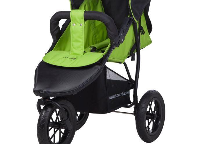 knorr baby Sportwagen Joggy S Happy Colour Gruen