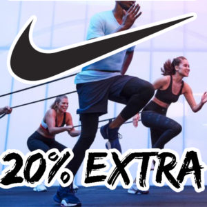 Großer NIKE Sale mit 20% Extra-Gutschein, z.B. Therma Trainingsjacke