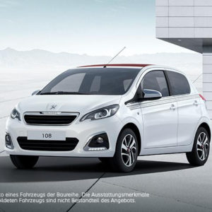 LF 0,4: Peugeot 108 Collection für 69€ mtl. - inkl. Full Service (Privat)