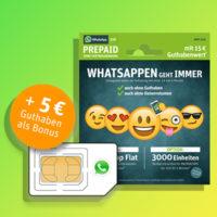 whatsapp starterpaket 3000