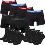 Puma: 6x Boxershorts & 6x Socken