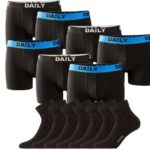 7x Daily Boxershorts + 7 Dailysoxx Quarter Socken