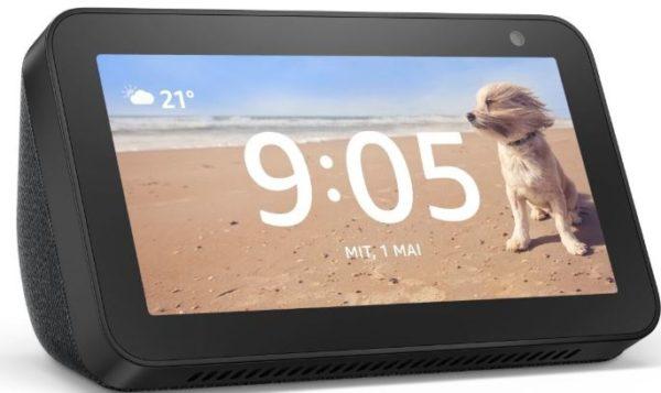 Amazon Echo Show 5   kompaktes Smart Display mit Alexa Schwarz bei notebooksbil