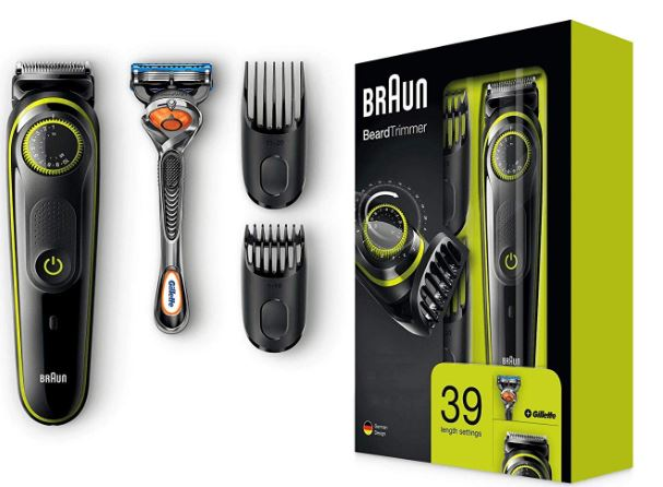 Braun Barttrimmer u Haarschneider BT3041