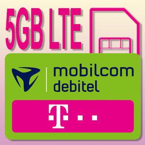 [TOP] Internet Daten-Flat mit 5GB LTE für eff. 4,99€ (im Telekom-Netz)