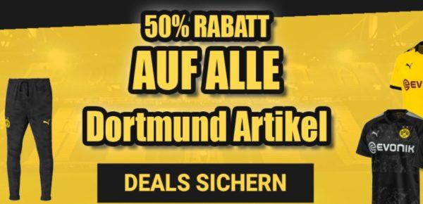 Dortmund Fanartikel mit Gutschein