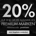 Galeria: 20% Gutschein auf Premium-Marken 👕 z.B. 3x Lacoste Shirts