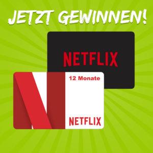 Newsletter Gewinnspiel 🎁 Jetzt NETFLIX Premium Jahresabo gewinnen!