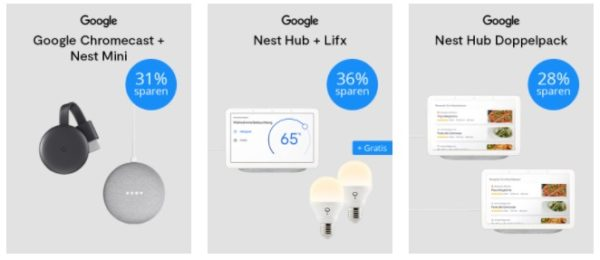 Google Deals bei Tink