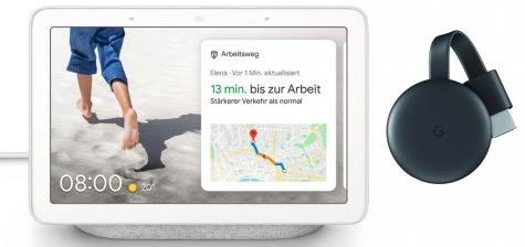Google Nest Hub  Google Chromecast