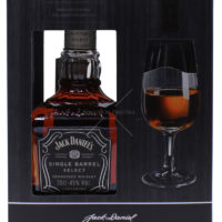 Jack Daniels Single Barrel Select Tennessee Whiskey 07L 45 Vol. mit GP  1 Glas   Jack Daniels   Whisky 2020 02 11 13 37