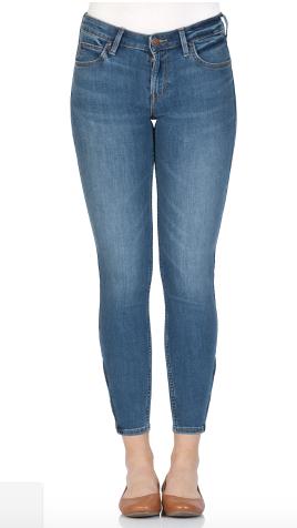 Lee Damen Jeans Scarlett Cropped   Skinny Fit   Blau   Ninety Nine kaufen   JEANS DIRECT.DE 2020 03 15 10 12 08