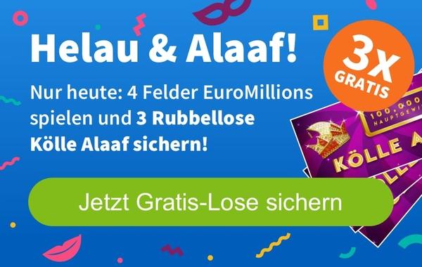 Lottohelden Lotto 6aus49  gratis 3 Rubbellose