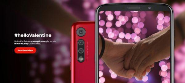 Moto G8 Plus  gratis Moto E6 Play Smartphone