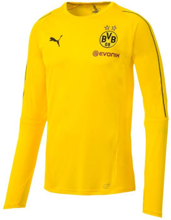 Puma BVB Borussia Dortmund Herren Trainingsshirt langarm