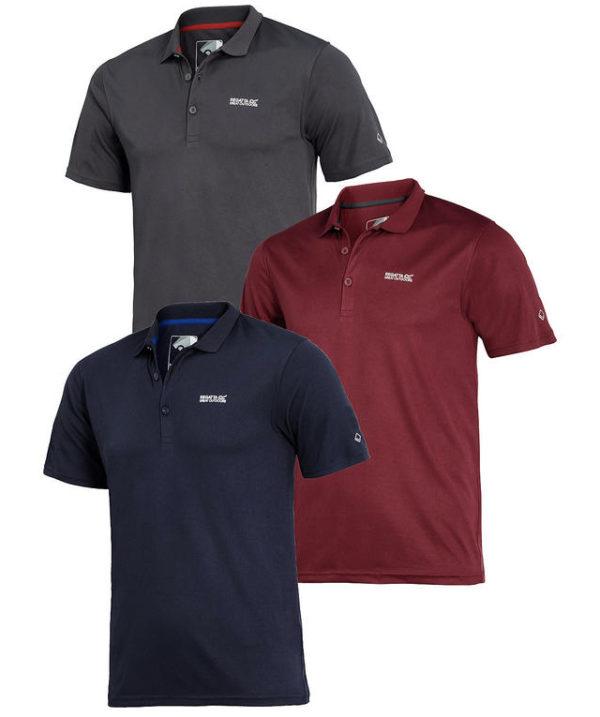Regatta 3er Pack Herren Polo Shirts    Sale 2020 02 06 17 03
