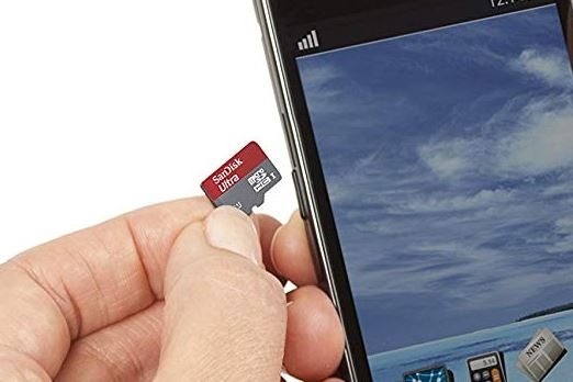 SanDisk Ultra 32GB microSDHC Speicherkarte  Adapter
