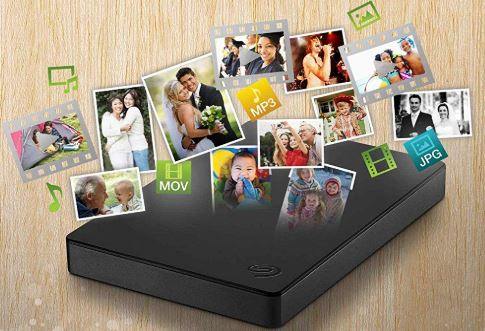 Seagate Portable Drive tragbare externe Festplatte 2 TB
