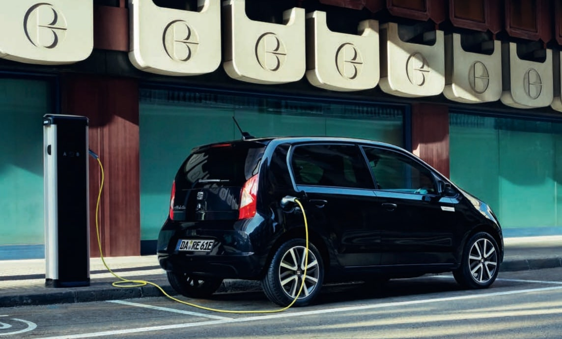 Seat Mii electric Edition Power Charge heck ambient