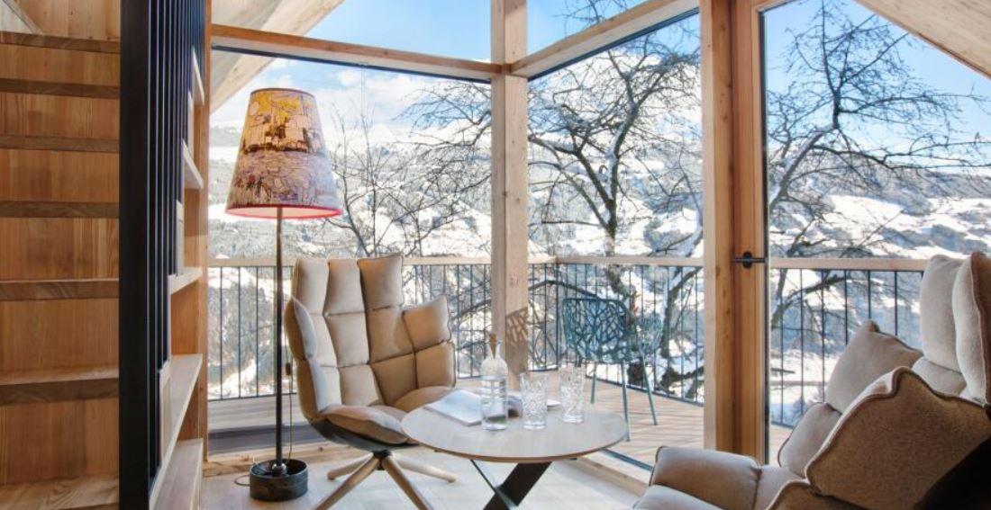 Zillertal: 2x ÜF im 5* Treeloft inkl. Bergsauna, Dinner & Spa