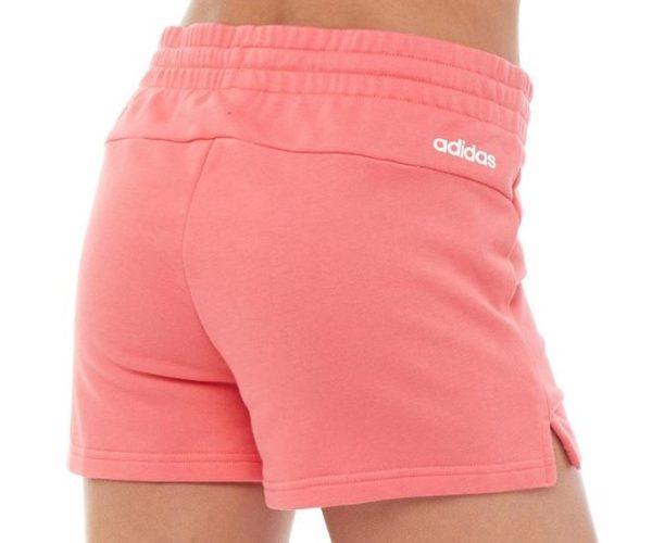 adidas Damen Essentials Shorts Korallenrosa