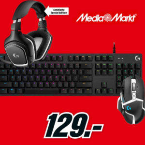 MediaMarkt Flyer-Deals 🔥 z.B. Logitech Gaming Hardware-Bundle