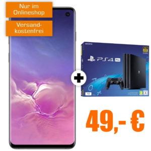 Eff. kostenlos 💥📢 Samsung Galaxy S10 + PS4 Pro + 18GB LTE (Vodafone)