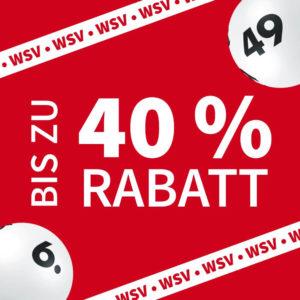Lotto WSV 🚨 40% Rabatt bei LOTTO 6aus49 mit 2 Mio € Jackpot (auch für BK)