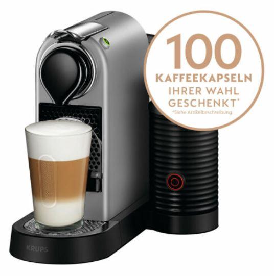 2020 03 03 08 53 47 Krups XN 760B Nespresso New CitiZmilk silber