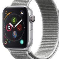 Apple Watch Series 4 GPS 44mm   Silver Aluminium Case with Seashell Sport Loop