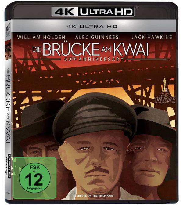 Die Bruecke am Kwai 4K Ultra HD Blu ray Amazon.de Holden William Hawkins Jack Guinness Alec Hayakawa Sessue Donald 2020 03 17 12 19
