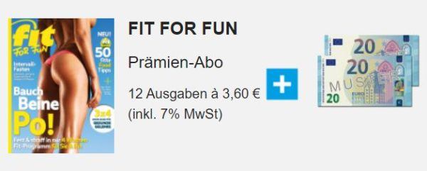 Fit For fun Abo