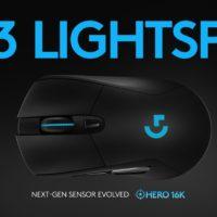 Logitech G703 wireless Gaming Maus